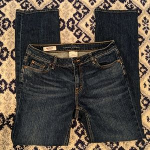 Banana Republic Contoured Boot Cut Jeans (Size 10)